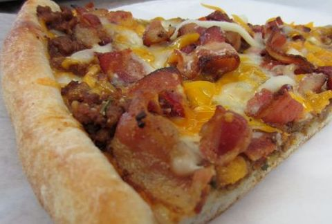 Pizza Bacon & Cheese